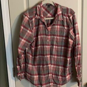 JCrew Mercantile Flannel Shirt